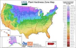 usda hardiness zones map sunset climate zones and other