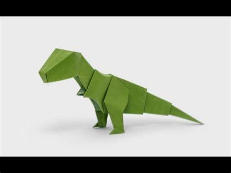 Origami Dinosaur For - origami dinosaur t rex 3d paper