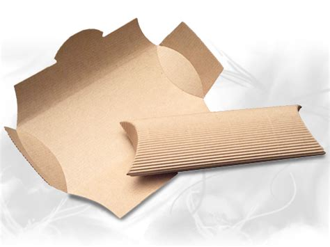 Corrugated Pillow Boxes by In Stock Paper Boxes Corrugated Pillow Pack Boxes