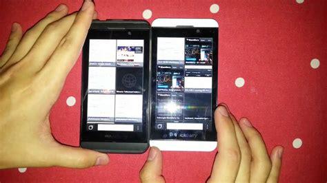Blackberry Z10 Stl100 002 4g Lte Black White blackberry z10 stl100 1 vs stl100 2 part 1 2
