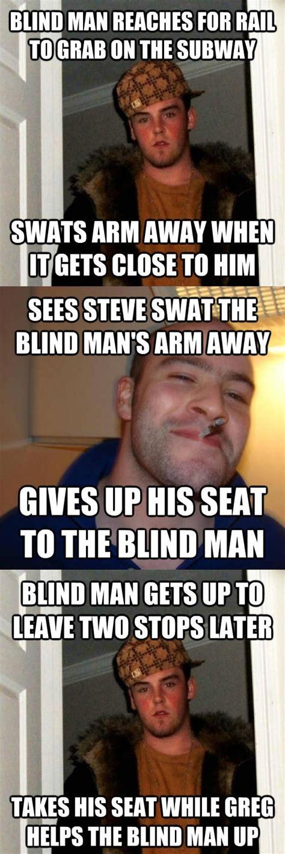 Good Man Meme - good guy greg vs scumbag steve memes