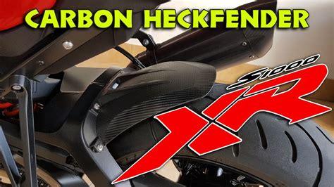 Bmw Carbon Aufkleber by Bmw S1000xr Carbon Aufkleber Heckfender Deutsch Youtube