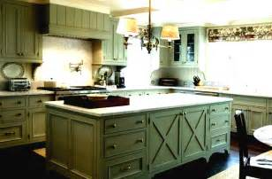 green kitchen cabinets rustic green kitchen cabinets rberrylaw ideas for
