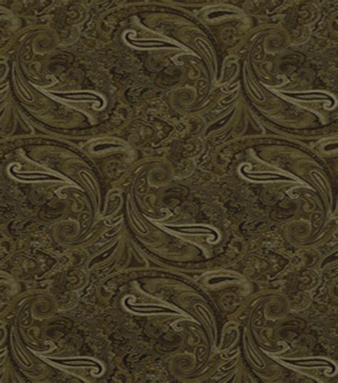 home decor fabric robert allen patna paisley noir fabric