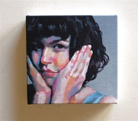 portrait auf leinwand kleine leinwand drucken portrait malerei druck