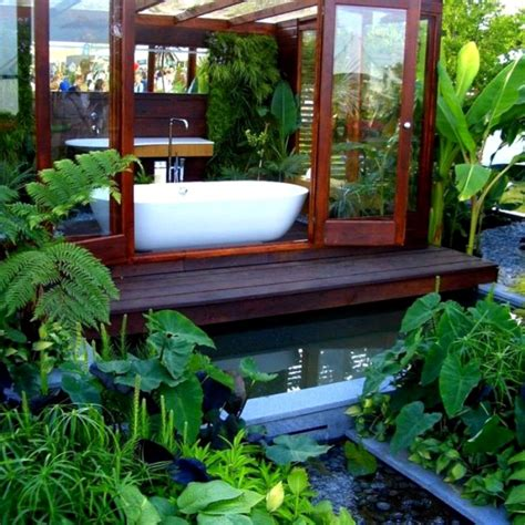 Garden Bathroom Ideas Ideas For Modern Bathroom Decorating With Plants Decozilla