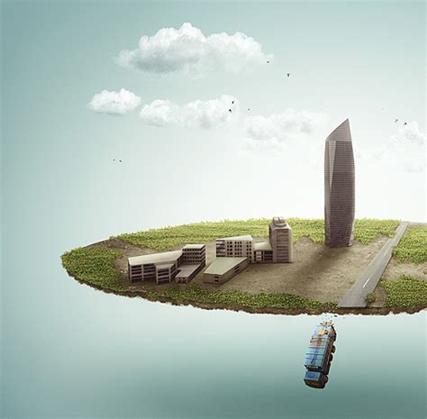 imagenes surrealistas con photoshop create a lost fantasy micro world with powerful photo