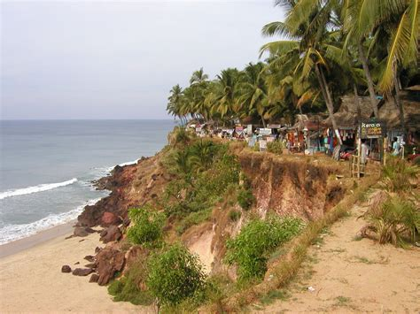 One Day Back In 2004 by Varkala Clifftop 2004 1 Day After Tsunami