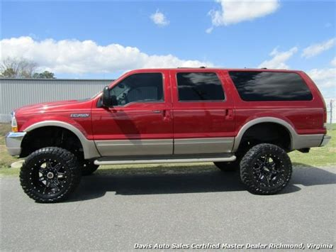 2001 Ford Excursion Limited Lifted 7.3 Power Stroke Turbo