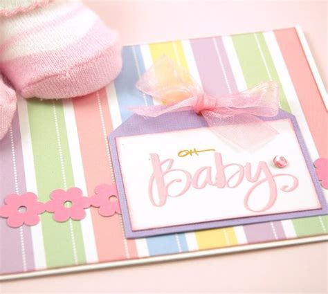 Handmade Baby Cards - handmade baby shower invitation card ideas baby shower ideas