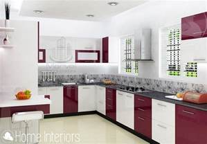 interior designs of home fascinating contemporary budget home kitchen interior design