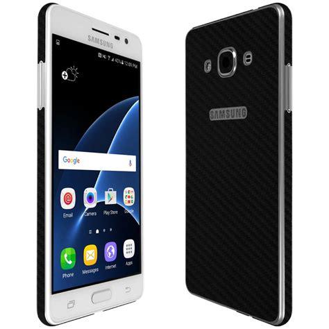 Samsung J3 Pro Black Matte Samsung Galaxy J3 Pro Techskin Black Carbon Fiber Skin
