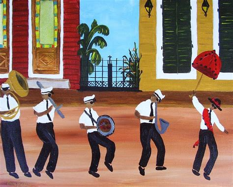watercolor new orleans second line new orleans second line painting by anne jenkins