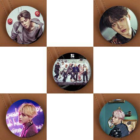 pin kpop hologram pin kpop youpop kpop bts bangtan boys wings album brooch pins k pop
