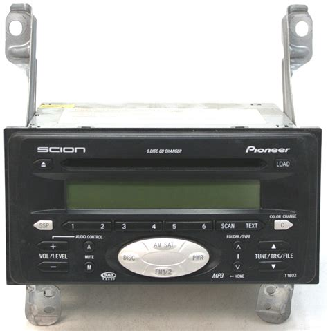 scion xb factory stereo  disc changer mp cd