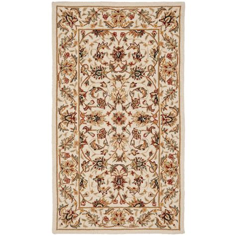 4 X 9 Area Rug Safavieh Chelsea Ivory 2 Ft 9 In X 4 Ft 9 In Area Rug Hk78c 3 The Home Depot