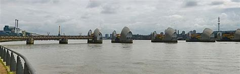 thames barrier opening ceremony the thames barrier london
