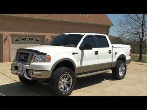 sold  ford    king ranch lifted custom