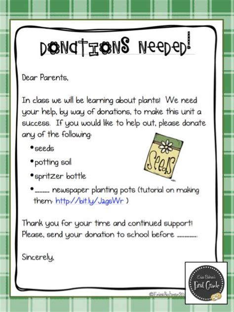 Parent Letter Requesting Supplies 25 Best Ideas About Classroom Donation Ideas On Classroom Supplies Kindergarten