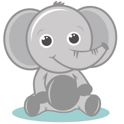 gray cute elephant clipart clipartfest