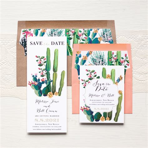 how to date a l by the desert save the dates beacon invitations