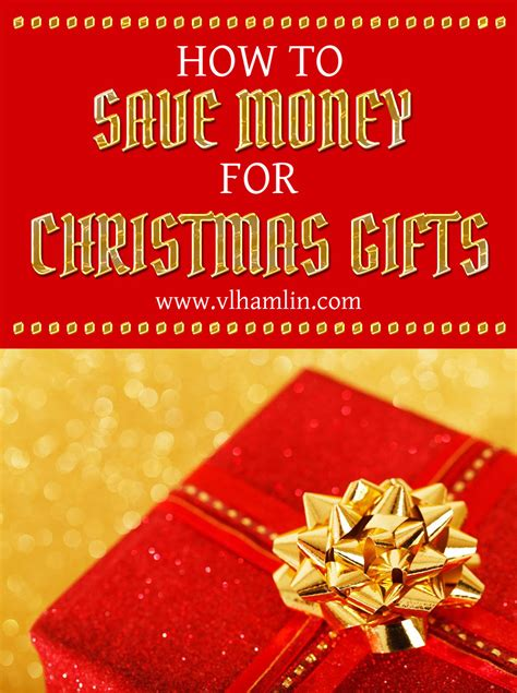 how to save money for christmas gifts food life design