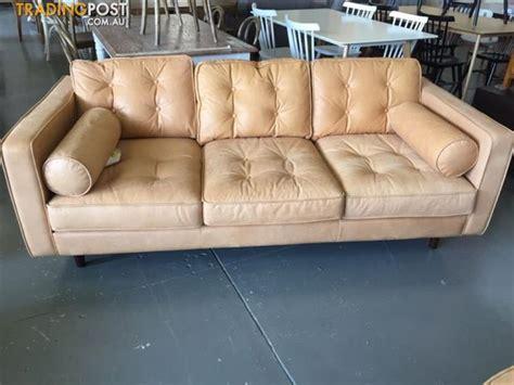 sofa dandenong copenhagen leather 2 5 seat sofa for sale in dandenong vic