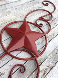 Metal Star Home Decor Items Similar To Metal Star Wall Decor Red Home Decor