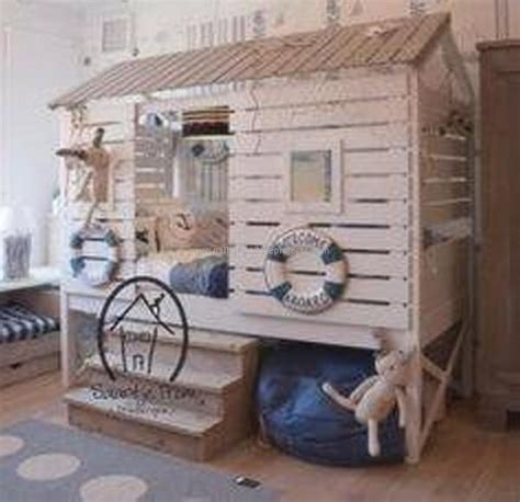 Mattress House by Bed Houses Out Of Pallets Wood Pallet Furniture