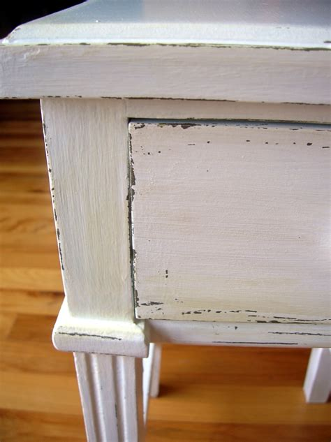 How To Antique Painted Furniture by How To Antique And Distress Furniture With Paint