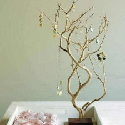Home Decor Branches by The Appleseed Diy Tree Branch Jewelry Stand