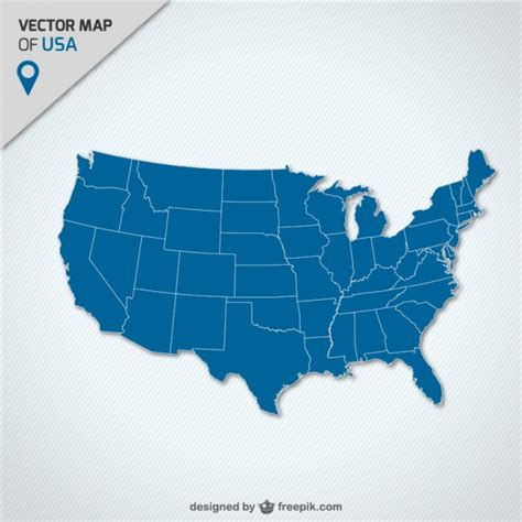 usa map vector usa vectors photos and psd files free