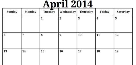 E Printable Calendars 2014