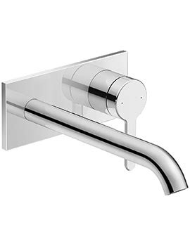 vado geo 3 hole basin mixer tap deck mounted | geo 101 c/p