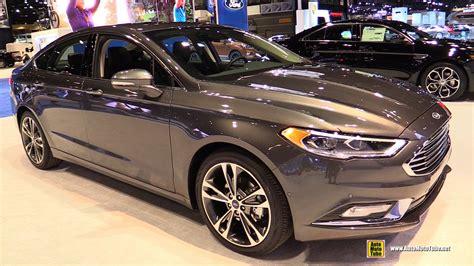 ford fusion 2017 interior 2017 ford fusion titanium exterior and interior