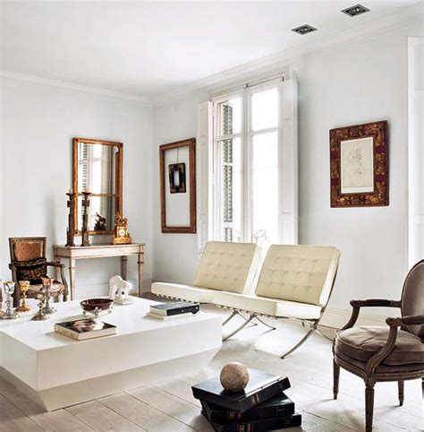 white living room chair reproduction barcelona chair archives furniture arcade