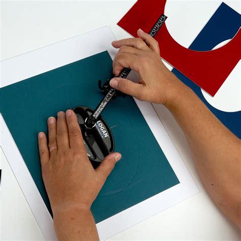 How To Use A Mat Cutter by Logan 201 Oval Circle Mat Cutter