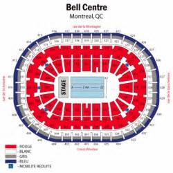 Bell Centre Floor Plan bell centre concert seating chart bell centre concert tickets