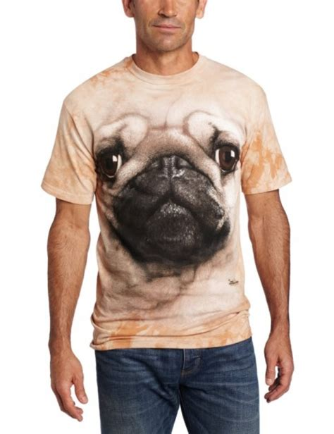 pug t shirt the mountain s pug t shirt gadgets matrix