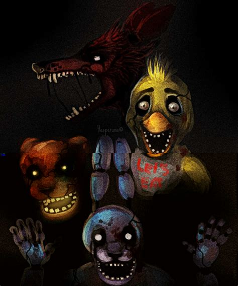 five nights at freddy s fan games hesperuna hanna deviantart