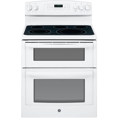 ge jb850dfww 30 inch electric smooth top double oven range