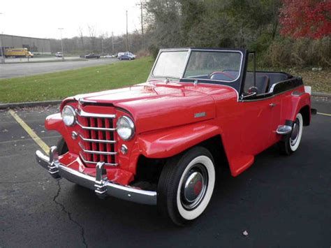 1948 willys jeepster 1950 willys jeepster for sale classiccars com cc 907152