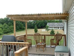 Adding A Pergola To An Existing Deck by Pergola Added To Existing Deck Home Decor Ideas Pinterest