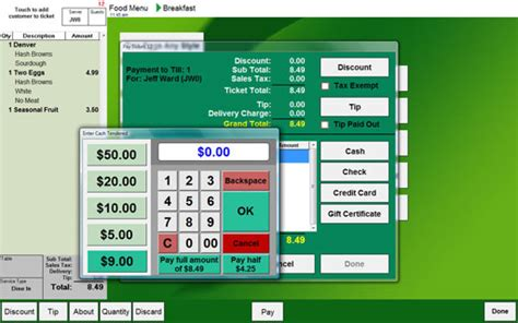 Program Pos Upgrade pos features free restaurant pos software