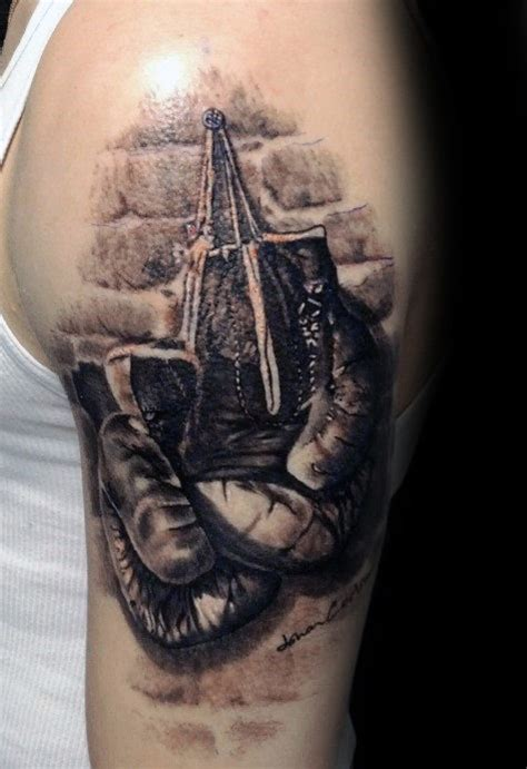 boxing gloves tattoo outstanding boxing gloves design