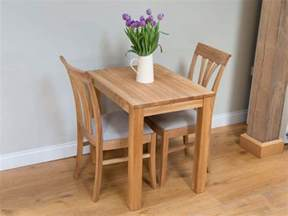 2 Seater Dining Table Small Solid Oak Dining Table Minsk 80cm X 60cm 2 Seater