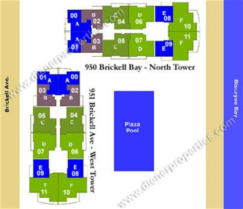 the plaza floor plans plaza on brickell condo floor plans