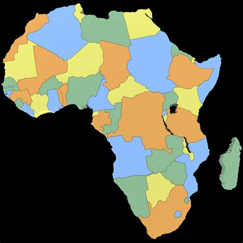 africa map 3d africa map 3d model max obj 3ds wrl wrz cgtrader