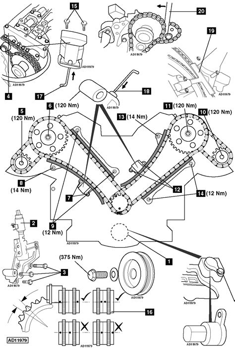 How to replace timing chains on Jaguar XJ8 3.2 Sport V8
