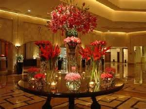 Flower Decor Lobby Flower Decor Picture Of The Ritz Carlton Doha